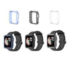 TPU Soft Full Edge Protector Smartwatch Case Shell Frame For Xiaomi Mi Watch Lite / Redmi Smart Watch Protective Bumper Cover