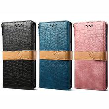 Crocodile pattern PU leather flip wallet Fran 11P for iPhone7 8Plus X XR XS MAX 11Pro mobile phone bag with multiple card slots