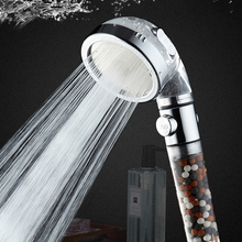 Shower-Head ANION-FILTER SPA 3-Function Water-Saving-Shower Bathroom Zhangji High-Pressure