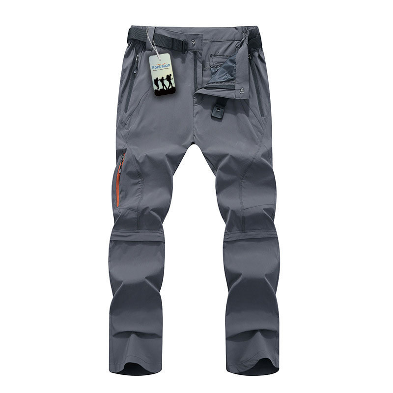 Unisex Waterproof  Walking Trousers Soft Shell Climbing Hiking Quick Dry Pants
