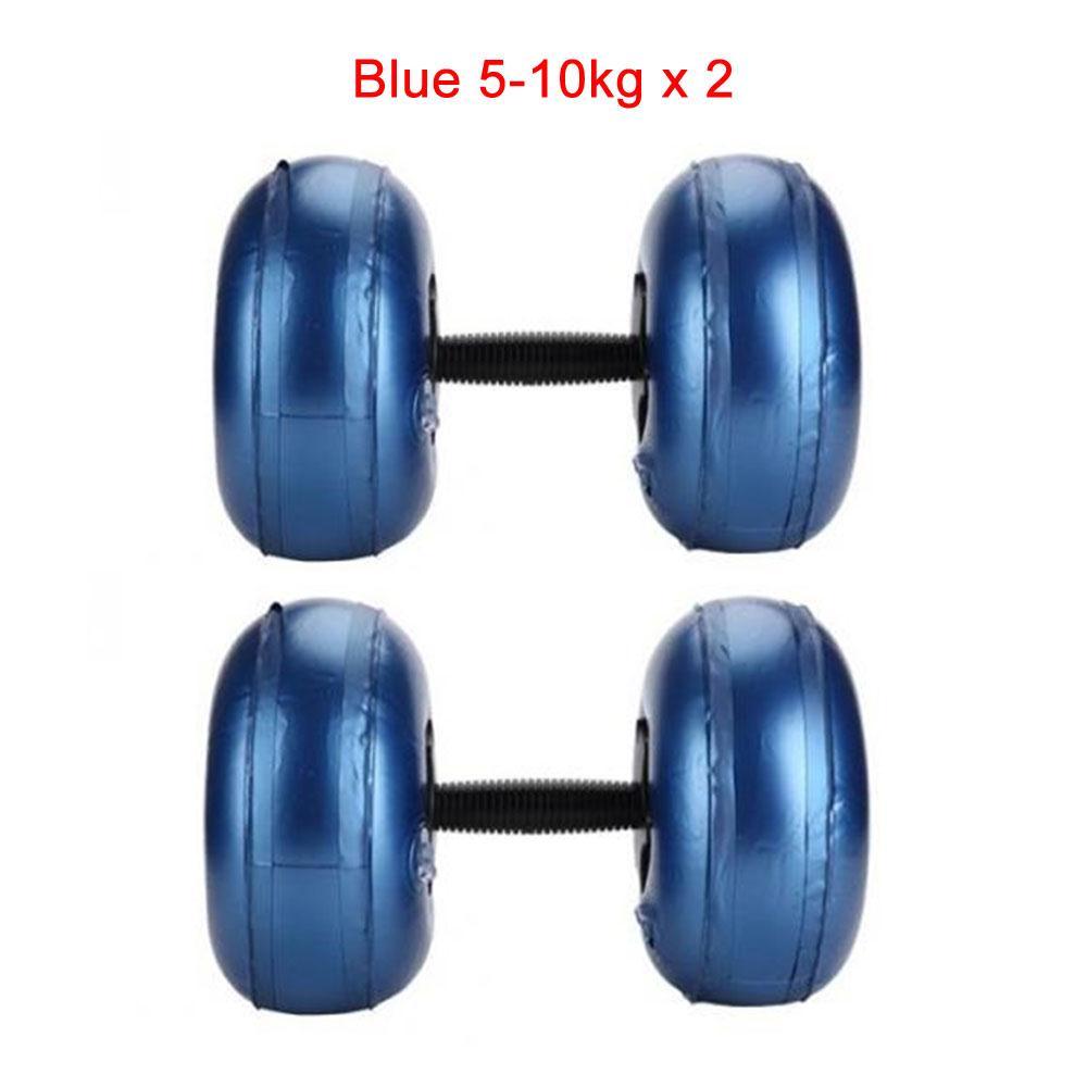 fosco sólido inflável treinamento força haltere ajustável fitness haltere unisex