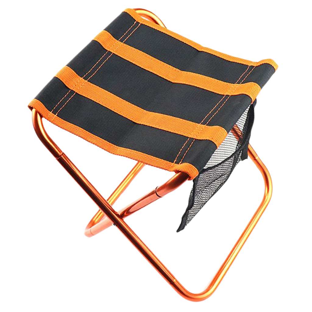Foldable Portable Outdoor Camping Garden Travel Stool Fishing Chair Seat