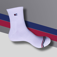 1 Pair Men Cotton Socks Brand New Business Leisure Dress Male Long Warm Solid color For gifts