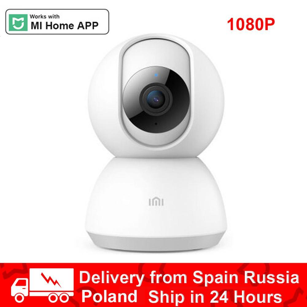Imilab câmera inteligente webcam 2 k 1296 p 1080 p hd wifi visão noturna 360 ângulo de vídeo ip cam monitor de segurança do bebê para xiaom mihome app