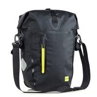 25L Waterproof Bike Bicycle Rear Rack Pannier Bag Cycling Rear Seat Bag Shoulder Bag Rear Seat Trunk Bag Bike panniers