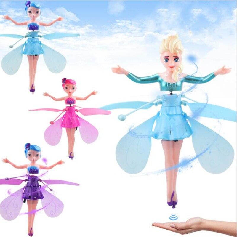 5 стилей забавные игрушки для принцесс Дрон вертолет летательный шар летающие игрушки шар сверкающий светодиодный свет Летающий вертолет д...