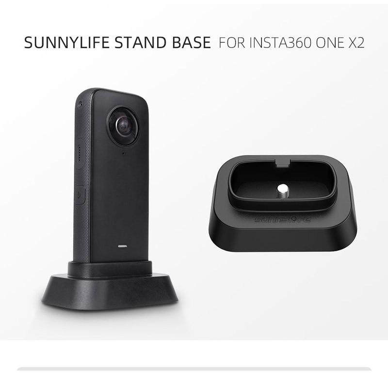 Нескользящая устойчивая к царапинам подставка для рабочего стола держатель для док-станции Подставка для Insta360 One X2 аксессуары для экшн-каме...