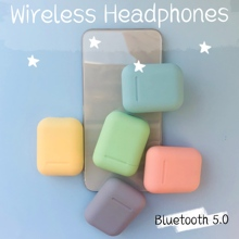 Bluetooth Earphone i12 tws Mini Wireless colorful Handsfree Fingerprint Charging