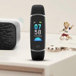 Image 4 - Lenovo Intelligente Banda HX11 Braccialetto Intelligente Schermo TFT HX11 fascia Smartband Per Il Fitness Tracker Bluetooth 4.2 Sport Impermeabile Banda Intelligente
