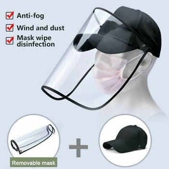 F Helmet Anti-Spitting Droplet Adjustable Full Face Covering Cap Protective Cover Shield Outdoor Safety Anti Spray Hats f pilkington alas fair face