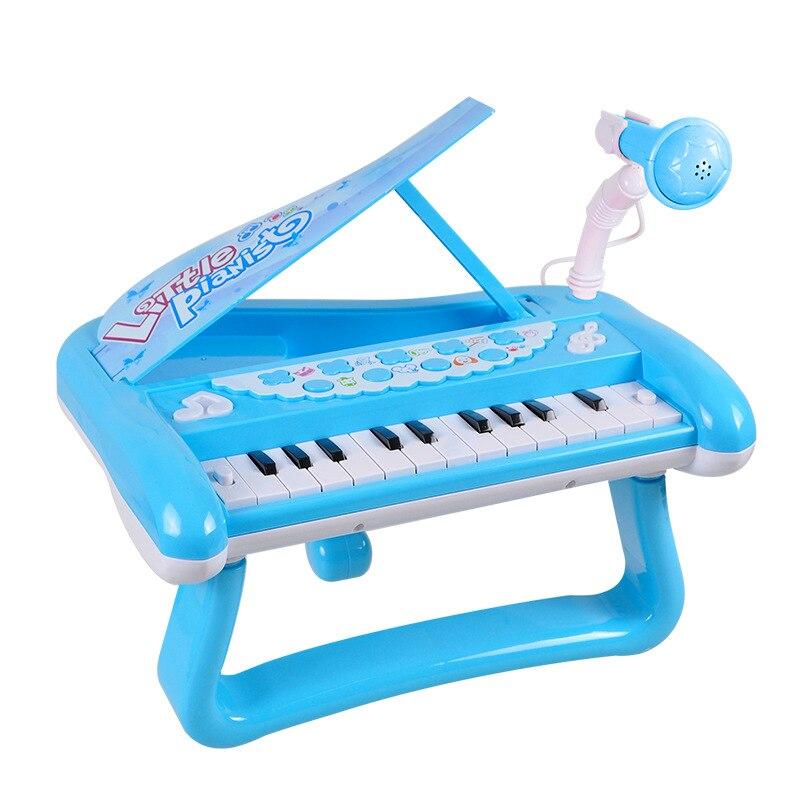 Qiaowabaobei Children's Electronic Keyboard Baby Educational ENLIGHTEN Toy Music Cartoon Qin Hot Selling Recruit