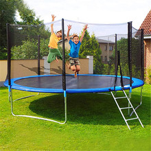 5FT Kids Trampoline with Protective Nets and Spring-covered Cushions Summer Sports Entertainment Indoor / Outdoor Toys sneakers reebok bs5398 sports and entertainment for women