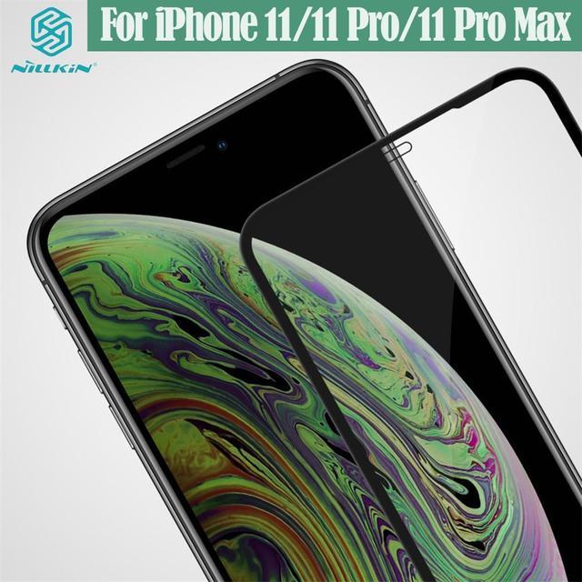 Iphone 11 Pro Max プロマックス強化ガラスnillkin cp + プロアンチ爆発のためのiPhone11 のためiphone 11 proのガラス