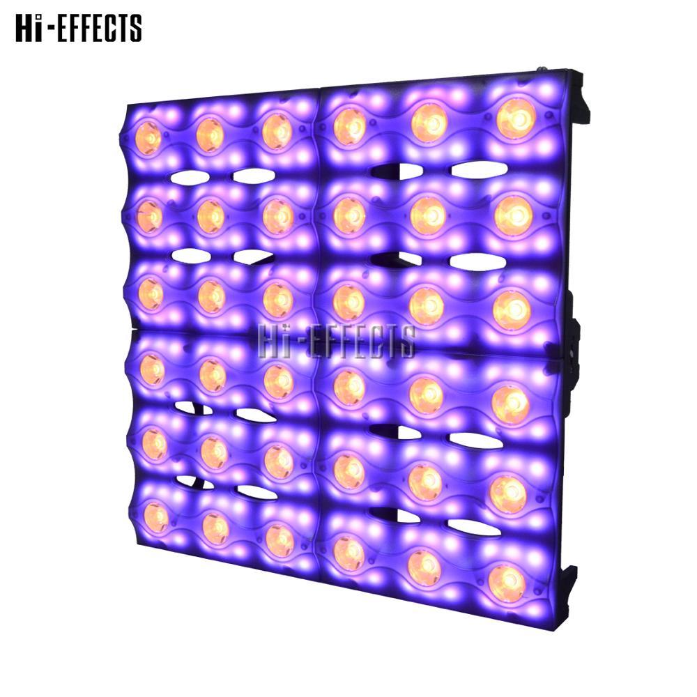 2pcs/lot Matrix Light 36x3W RGBW 4in1 Chameleon Effect Dj Light Stage Lighting LED Par Can For Sale Professional Stage Equipment