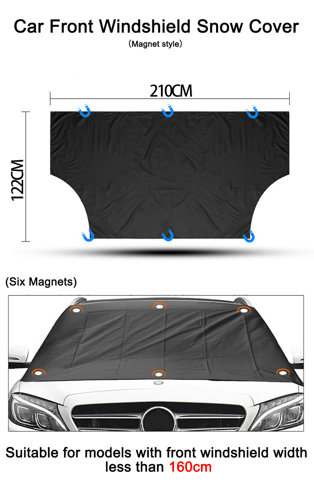 windshield snow protector