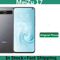 "Original Meizu 17 5G Mobile Phone Snapdragon 865 Octa Core Android 10.0 6."" 2340x1080 90hz 64.0MP 30W Mcharge Screen Fingerprint 1"