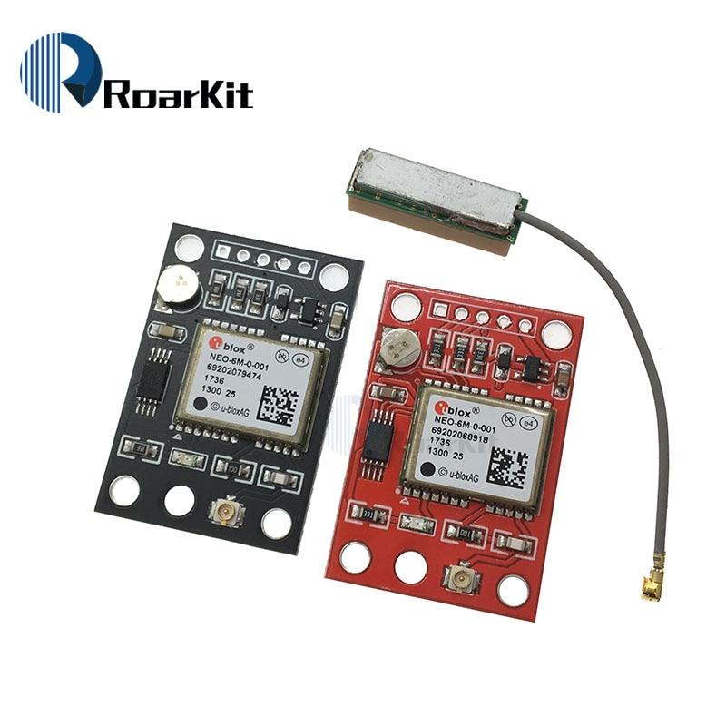 NEO-6M GPS Module APM2.5 Flight Control w// IPX interface GY-NEO6MV2 for Arduino
