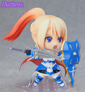 100% Original genuine Anime figure Armored woman carina Q version figma PVC Action Figure Anime Figure Model Toys Doll Gift 2