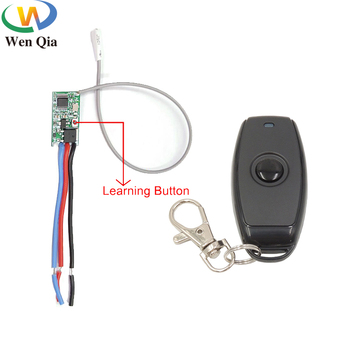 433mhz DC 3.6V 6V 12V 24V 1CH Relay Wireless RF Remote Control Switch Mini Module With Transmitter For Power LED Lamp Light DIY ac dc 12v 24v 10a wireless remote switch 4ch relay module receiver with 433mhz 1527 wall mounted remote control ktnnkg diy