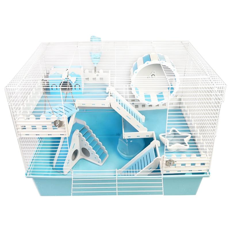 Hamster Oversized Cage 60 Foundation  Pipe    Flower Branch Hedgehog Luxury Villa
