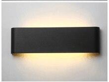 Современный минималистичный светодиодный алюминиевый настенный