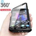 Чехлы с полным покрытием 360 для Samsung Galaxy J4, J6, A6, A8 Plus, J2 Core, J3, J5, J7 Prime, A7, A9 2018, A3 2016, A5 2017, противоударный чехол