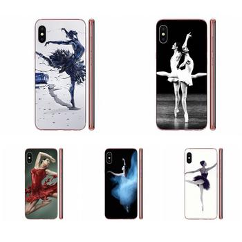 Ballerina Ashley Rose For iPhone 11 Pro XS Max X 8 7 6s Plus 5 SE 11 XR SE 2020 Ultra Thin image