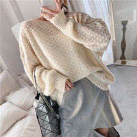 Roupas femininas Women Pull Sweaters 2019 New Sweater Jumpers Harajuku Chic Sweater Twisted Pull O Neck Pullovers Solid Thin