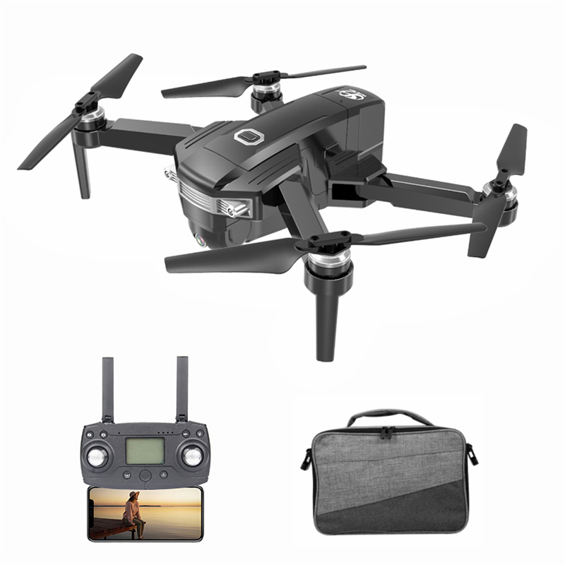 CSJ X8 5G Wifi FPV GPS RC Drone With 4K Camera HD Way-point Flying Gesture Video 1000M Brushless RC Quadcopter With Portable Bag