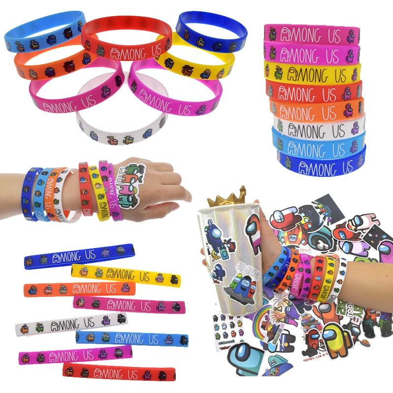 Новый спортивный силиконовый браслет из нас, мультяшный браслет, любимые детские аксессуары, декоративные наклейки, товары для вечерние дл...