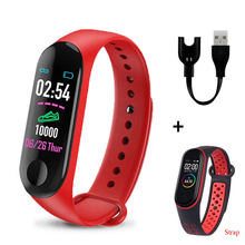 Sports M3 Plus Pro Smart Watches M3Plus Heart Rate Watch Smart Wristband Sports Watches Smart Band Smartwatch Android(China)