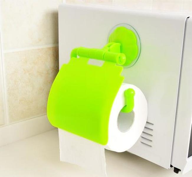 5 Colors Roll Stand Bathroom Rack Paper Holder Tissue Portable Kitchen Living Room Toilet Household Plastic White Blue