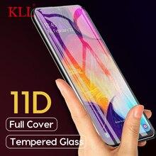 11D Gebogene Volle Abdeckung Gehärtetem Glas für Samsung Galaxy A50 A30 A20 Screen Protector für Samsung M30 M20 M10 Schutzhülle glas
