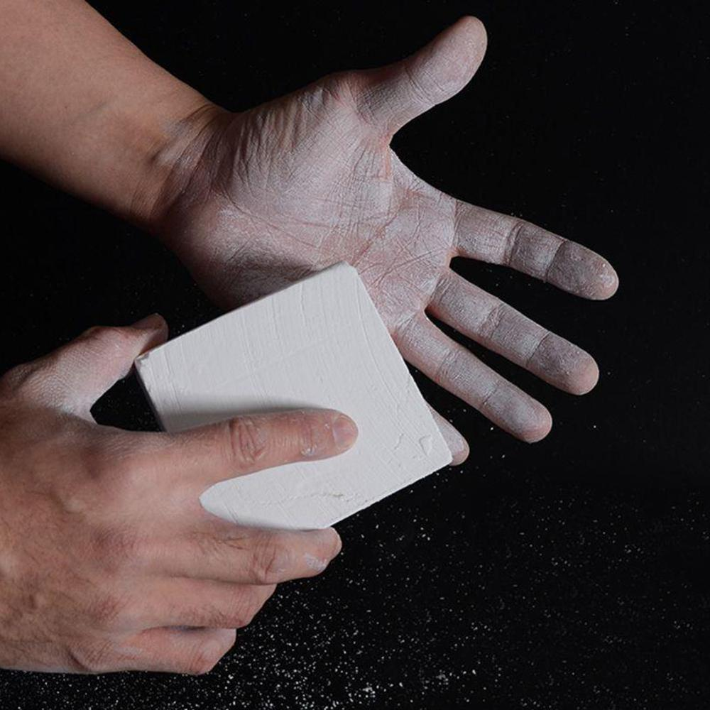 Anti-Slip Sports Gymnastic Weight Lifting Powder Climbing Magnesium Carbonate Chalk Block Barbell Rings Training
