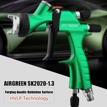 Professional Spray Gun HVLP 1.3mm Nozzle Pneumatic Spray Paint Gun With 600CC Cup Airbrush For Car Auto Repair Tool Painting Kit