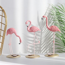 Flamingo Figurine Party-Ornament Home-Decoration-Accessories Livingroom Fairy Garden