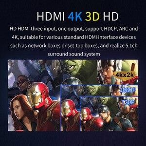 Image 4 - HD815B HDMI 5.1 convertisseur Audio décodeur DAC DTS AC3 FLAC APE 4K * 2K HDMI vers HDMI extracteur convertisseur séparateur numérique SPDIF ARC