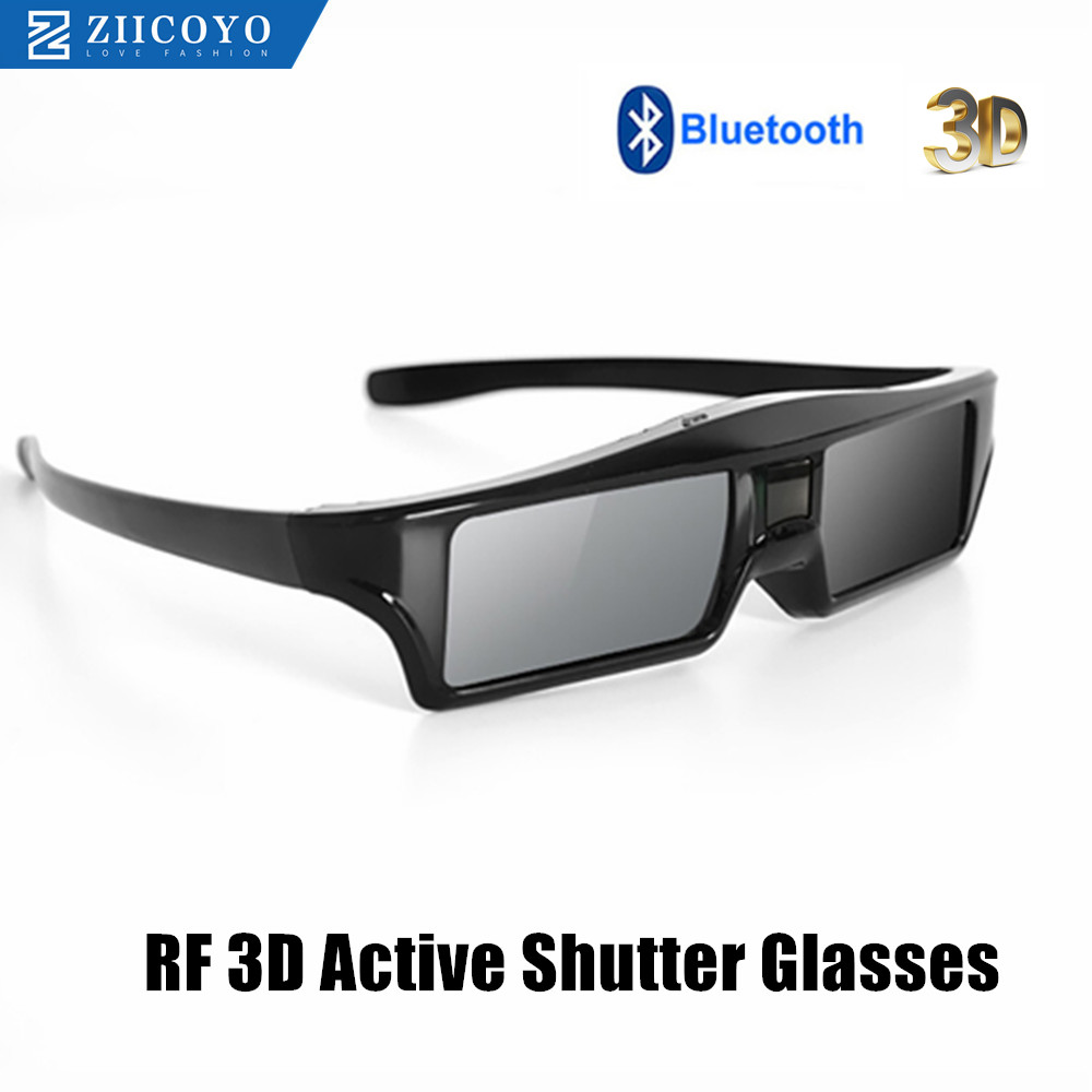 Official 100% Universal <font><b>3D</b></font> Bluetooth Rechargeable Active Shutter Glasses for Sony/Panasonic/Sharp/<font><b>Samsung</b></font> <font><b>3D</b></font> <font><b>TV</b></font> replace SSG-5100 image