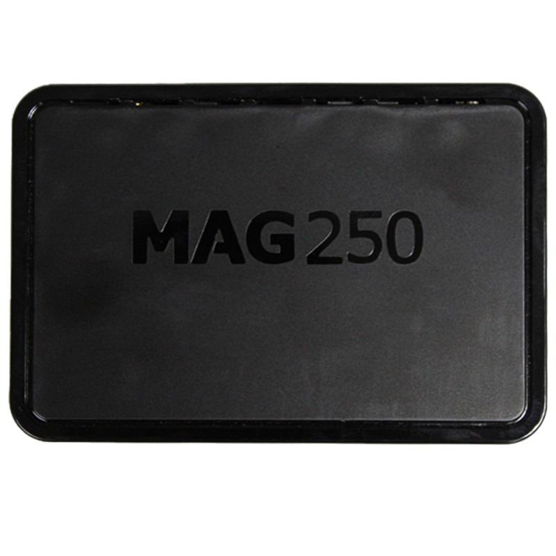 Practical High Quality EU/US MAG250 HD Network Set Top Box  TV PSize: 12.7*8.7*3cm Memory 256 Mb Operating System Linux 2.layer