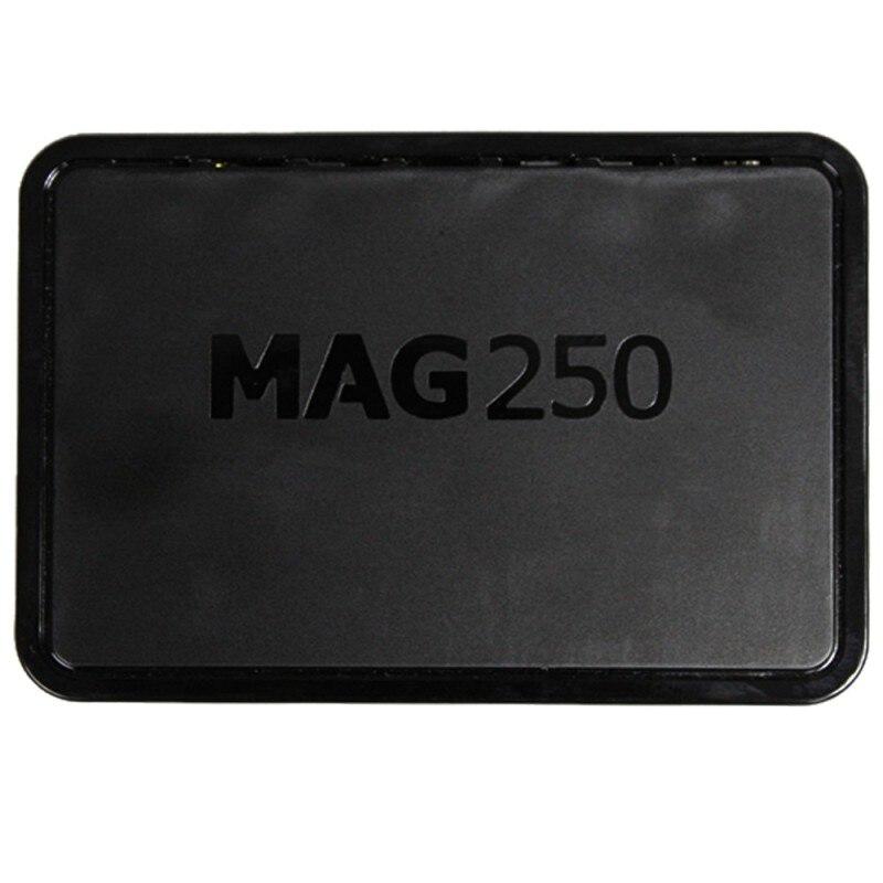 Pratique de haute qualité EU/US MAG250 HD réseau décodeur TV PSize: 12.7*8.7*3cm mémoire 256 mo système d'exploitation Linux 2.layer