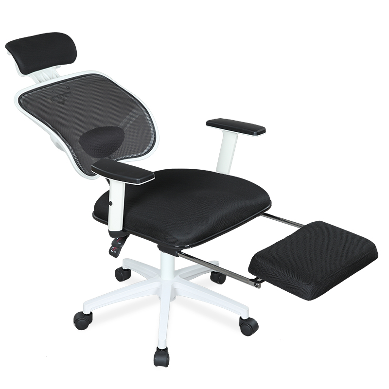 Computer Chair Home Reclining Human Swivel Chair Mesh Student Dormitory Can Lift Staff Simple Lift Office Chair