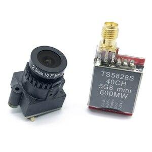 Image 3 - TS5823S 200mw TS5828S 600mw 5.8 グラム 40Ch fpvオーディオビデオマイクロ送信ミニfpv quadcopterドローン