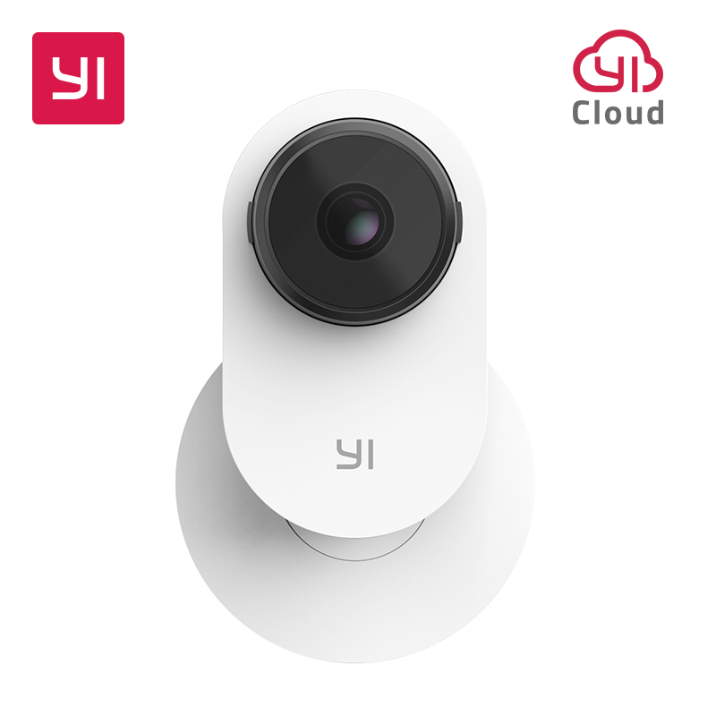 YI Smart Home Camera 3 AI-Powered IP Camera 1080p Security Surveillance System Indoor With Human Detection Two-Way Audio Monitor