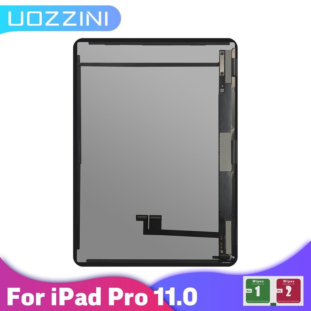 ЖК-дисплей для Apple iPad Pro 11 1nd 2-й A1980/A1934/A1979, ЖК-дисплей с сенсорным экраном в сборе, сменная деталь, 100% протестирован