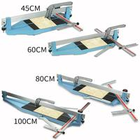 Manual Tile Cutter 45/60/80/100cm Tile Cutter Machine for Large Tiles Ceramic Tile Cutter 15mm Cutting Thickness