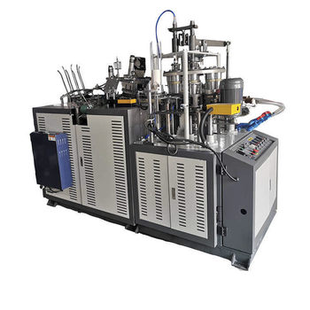 Ultrasonic Heater Open Cam Single Plate Middle Speed Paper Cup Machine - ماكينة تصنيع الاقداح الورقية 1