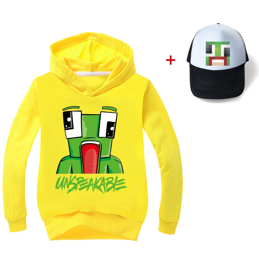 2021 Children Hoodies UNSPEAKABLE YOUTUBER Prestonplayz Boys Long Sleeves T-shirts KidsGirl Clothes T shirts clothes tee tops 5