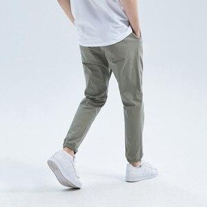Image 4 - Pioneer calças casuais masculinas, calças casuais masculinas de algodão slim fit, roupas de marca para homens, verão 2020 axx901001