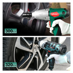 Image 5 - LANNERET 450W Electric Impact Wrench 300Nm Max Torque 1/2 inch Car Socket Electric Wrench Changing Tire Tool