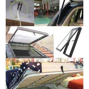 Image 2 - 2 pces 300 600mm 300n carro struts gás capô tronco bagageira elevador de choque suporte barra de mola de gás ônibus cama caminhão barco janela